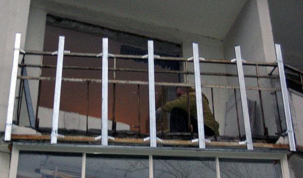 Утеплить металлический балкон своими руками